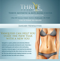 Skincare Newsletter Portland - January 2014 Newsletter