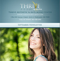 Skincare Newsletter Portland -  September  2014 Newsletter
