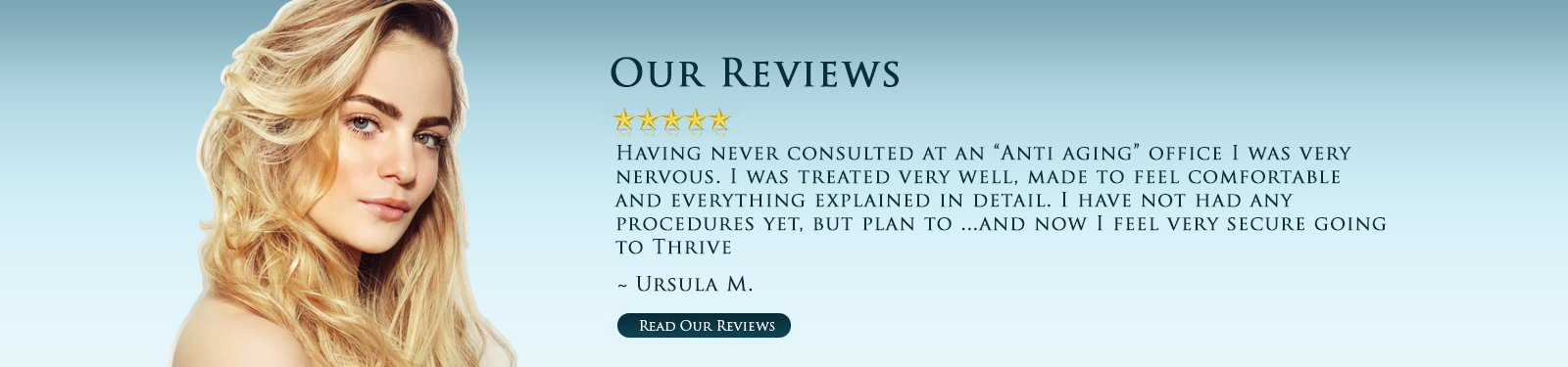 Anti-Aging Center Portland - Real Patient Reviews