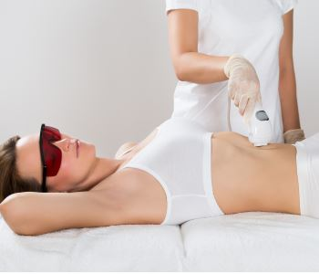 Using Exilis to tighten the skin in the Vancouver area