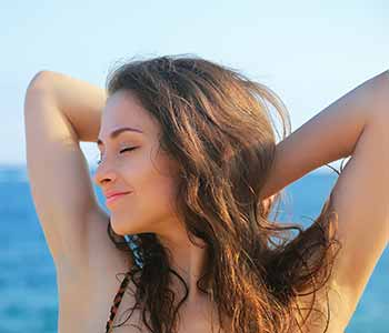 miraDry treatment dramatically reduces underarm sweating and odor